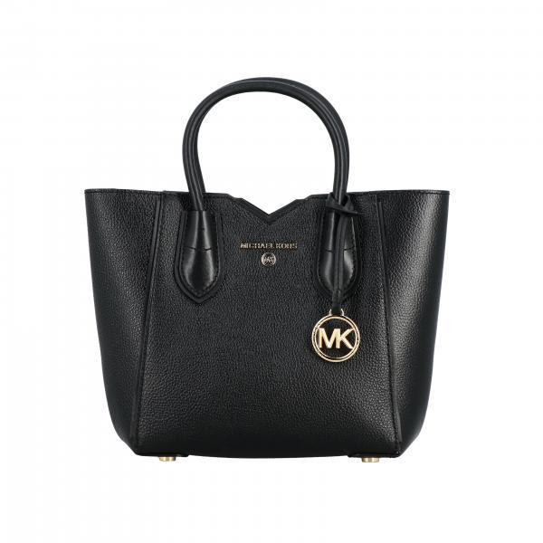 Michael Michael Kors Mae logo装饰捶打皮革手袋