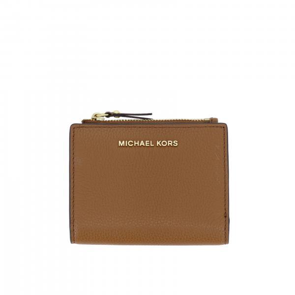 Portafoglio Michael Michael Kors in pelle martellata
