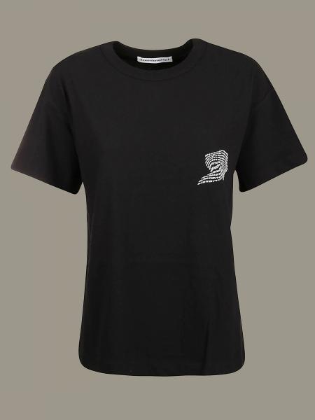 T-shirt Alexander Wang con stampa logo