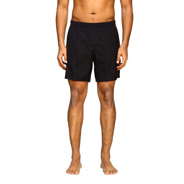 Mcq Mcqueen boxer swimsuit with logoed bands