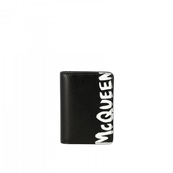 Portafoglio Mcq Mcqueen verticale con big logo