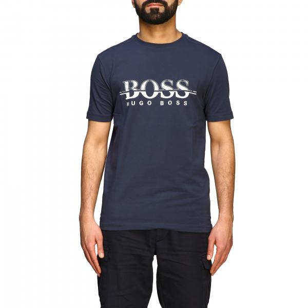 Hugo Boss short-sleeved T-shirt with logo