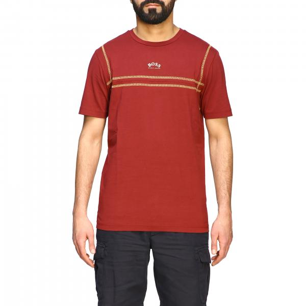 Hugo Boss short-sleeved T-shirt with mini logo