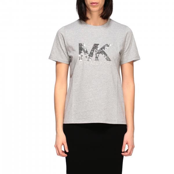 T-shirt Michael Michael Kors con logo di paillettes
