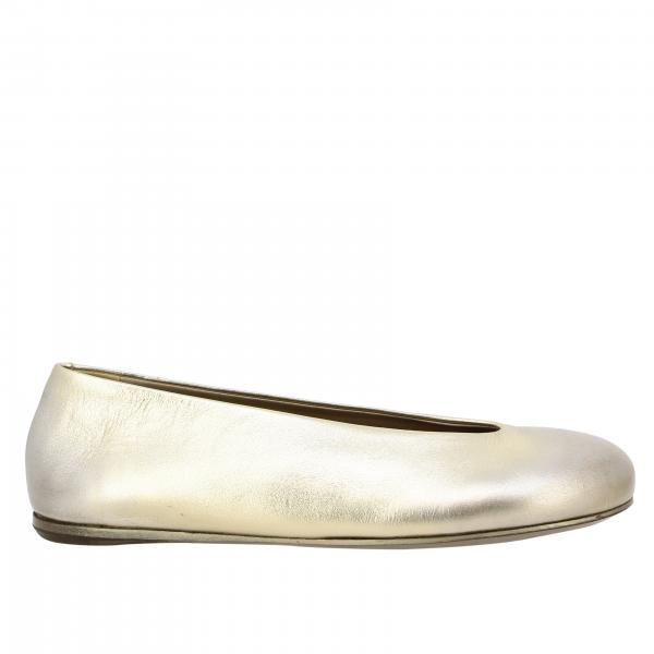 Marsèll Nespola ballet flat in laminated leather