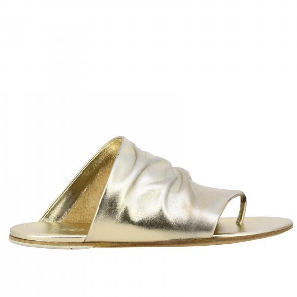 Marsell Arsella Flip Flops aus laminiertem Leder