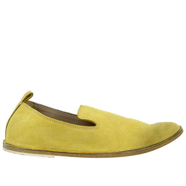 Pantofola Strasacco Marsèll in pelle scamosciata