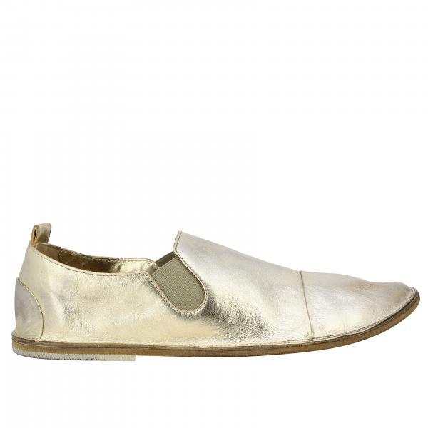 Marsell Strasacco 金属感真皮休闲鞋