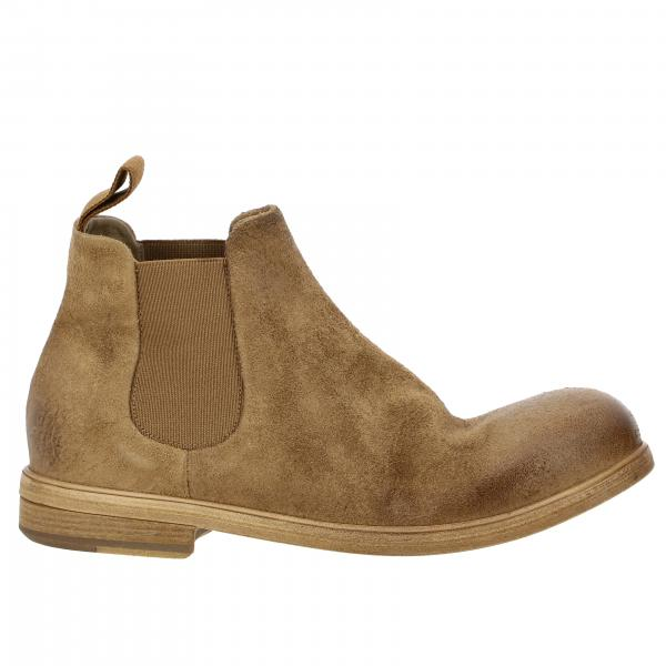 Marsèll Medium Zucca ankle boot in suede