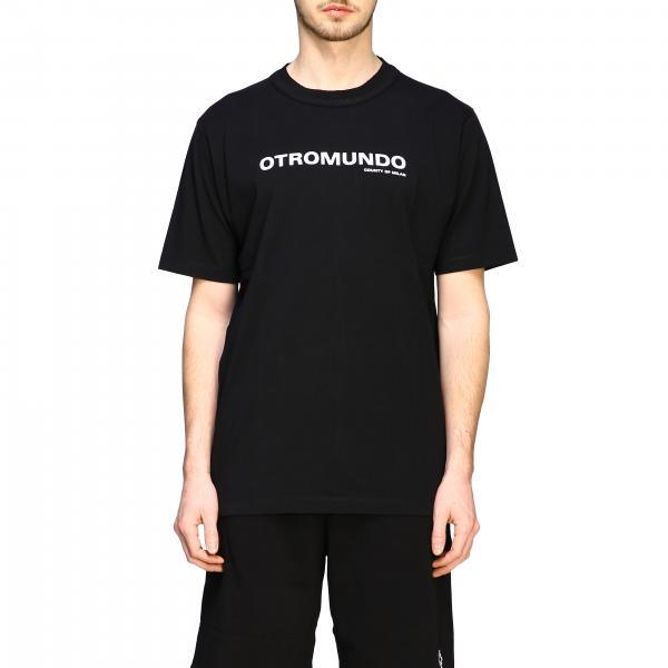 Marcelo Burlon short-sleeved t-shirt with otromundo print