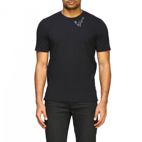 T-shirt Saint Laurent a maniche corte con mini stampa