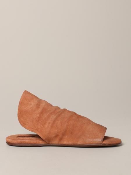 Sandalo Scalzato arsella Marsèll in pelle scamosciata