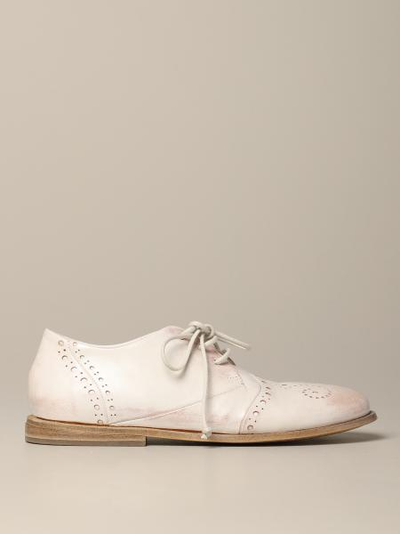 Marsèll Goodpiatto holes derby in leather with brogue motif