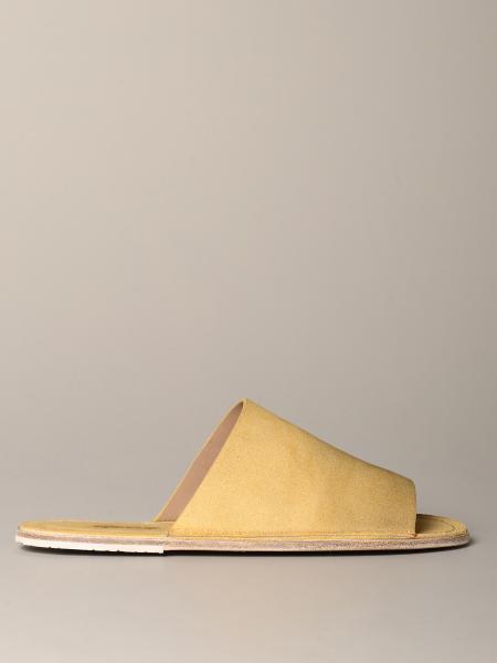 Sandalo Scalzato sandalaccio Marsèll in pelle scamosciata