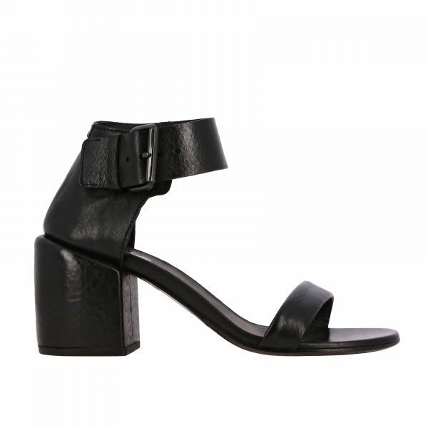 Босоножки на каблуке из кожи Женское Marsell