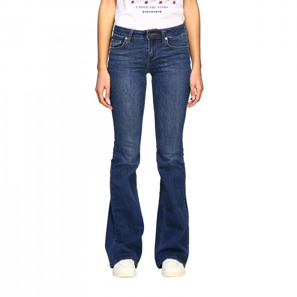 Liu Jo low-rise 5-pocket jeans with flared bottom