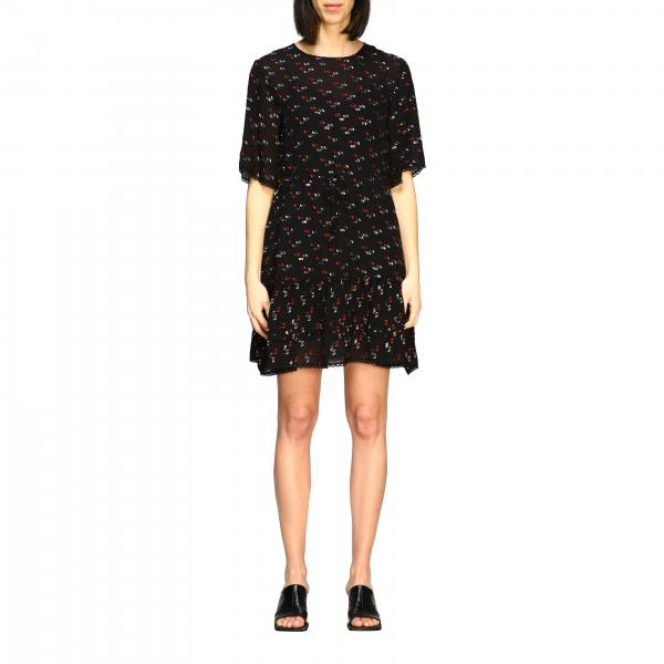 See By ChloÉ micro patterned dress