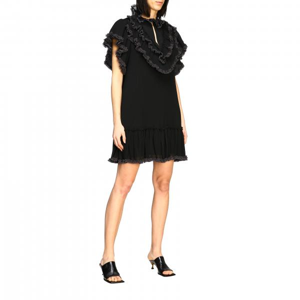 See By ChloÉ dress with all-over ruffles