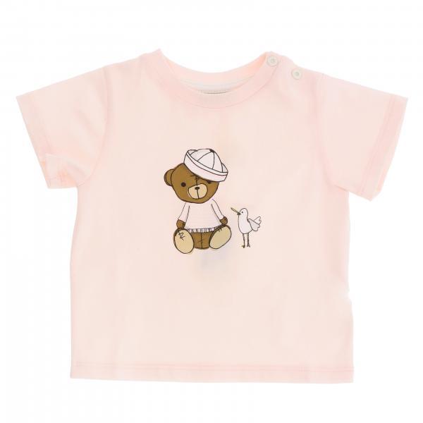 Fendi 小熊装饰短袖T恤