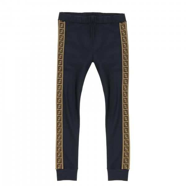 Fendi trousers with all over FF bands