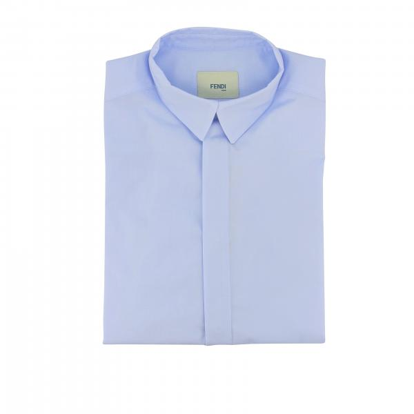 Camicia Fendi con colletto piccolo