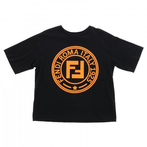 T-shirt Fendi à manches courtes avec logo