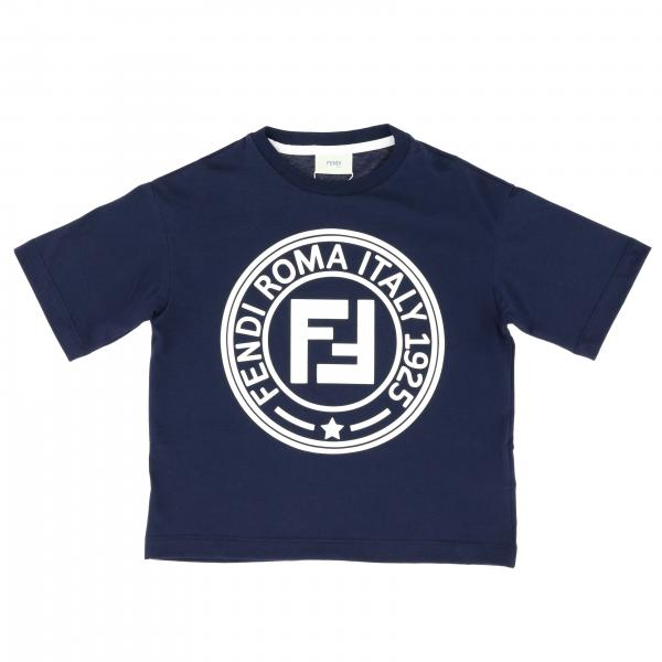 Fendi short-sleeved T-shirt with logo