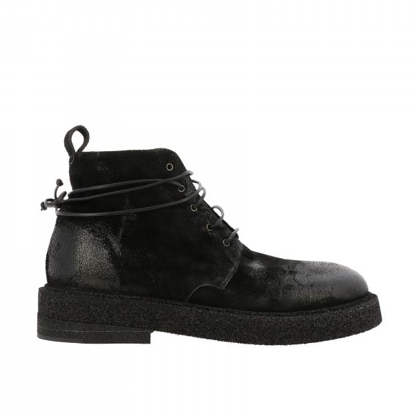 Marsèll Micrucca ankle boot in coated suede