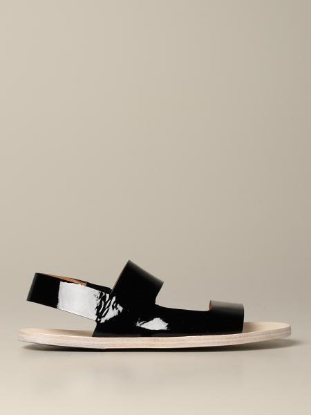 Marsell Sandellone 漆皮凉鞋
