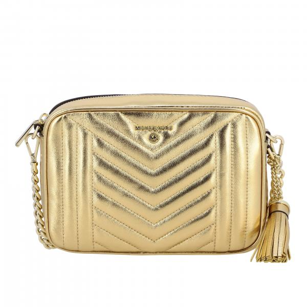 Michael Michael Kors Jet set shoulder bag in laminated leather