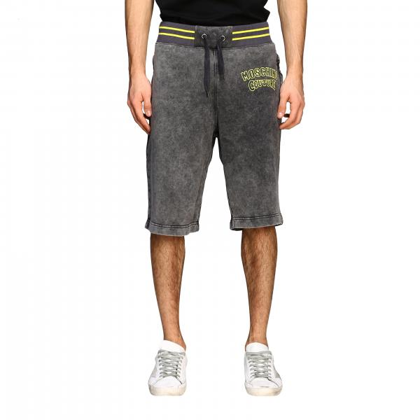 Moschino Couture 水洗效果运动风沙滩裤