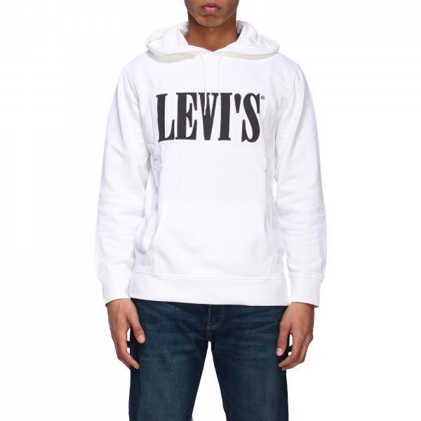 Levi's logo连帽卫衣