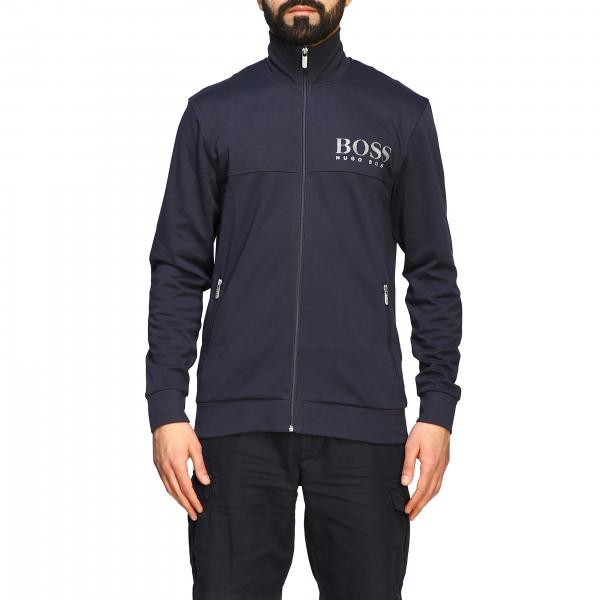 Hugo Boss sweatshirt with zip and logo