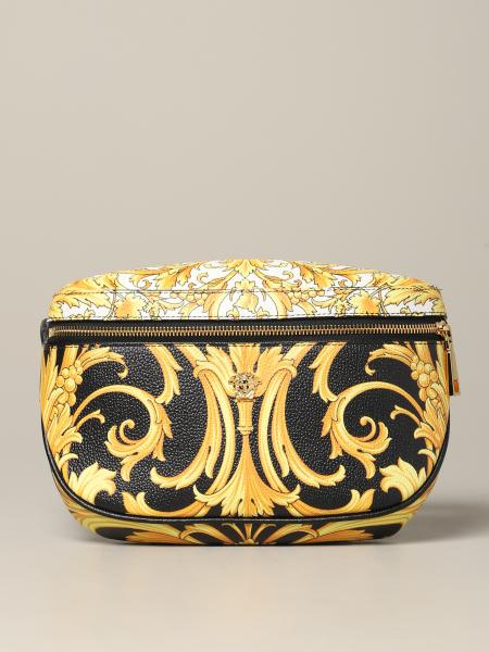 Versace belt bag in baroque print leather
