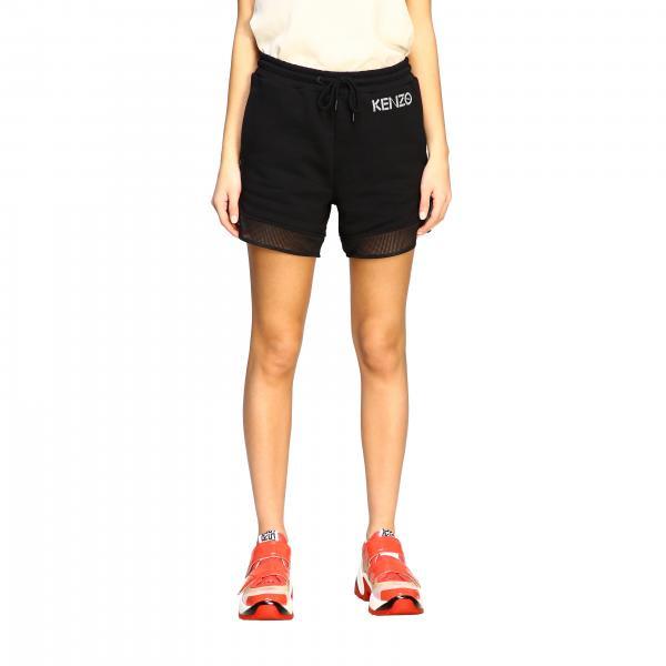 Shorts Kenzo con in rete con logo