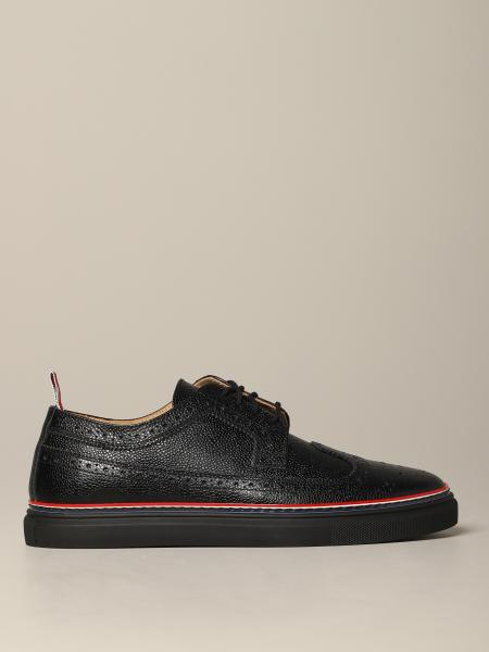 Thom Browne lace-up in textured leather