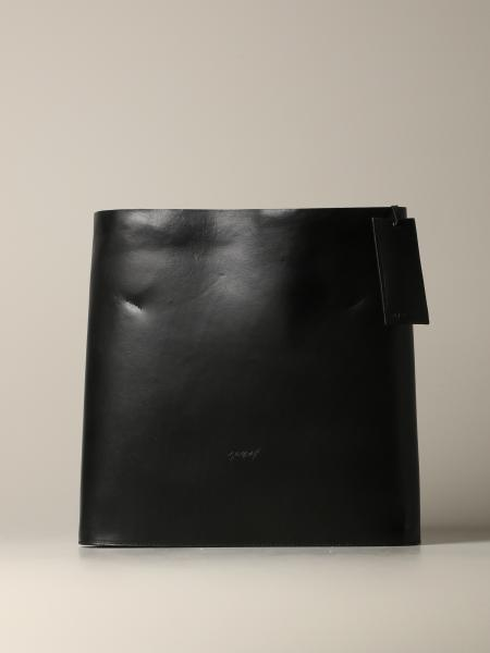 Marsell Gigantone logo 光滑真皮手袋