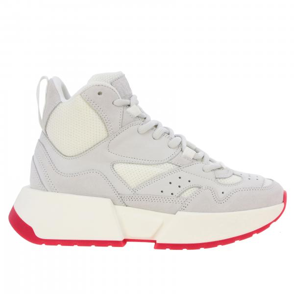 Sneakers Mm6 Maison Margiela in camoscio e rete