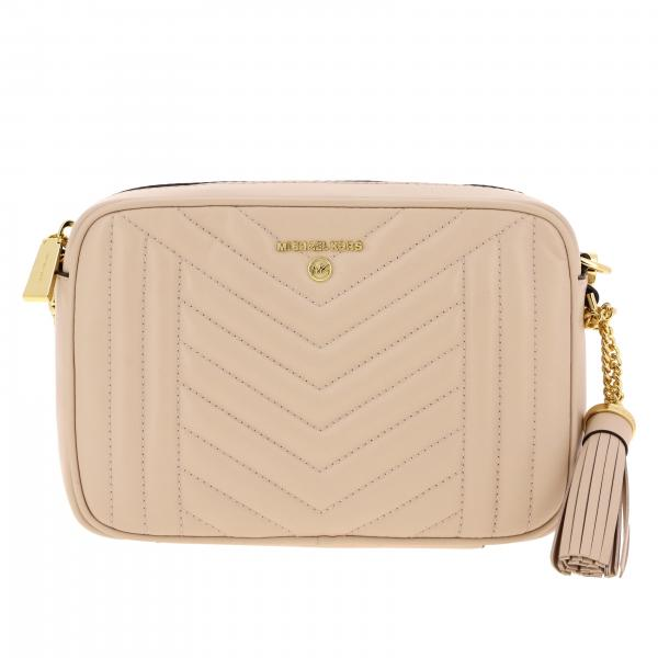Michael Michael Kors Jet set shoulder bag in chevron leather