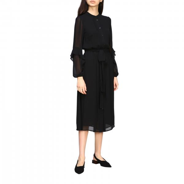 Michael Michael Kors crew-neck dress with belt