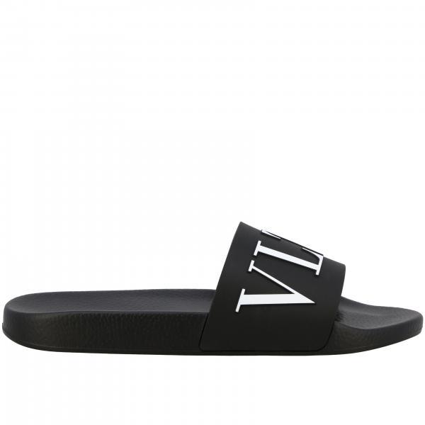 Sandales en caoutchouc Valentino Garavani avec monogramme VLTN