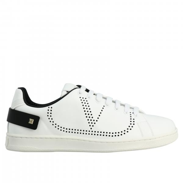 Valentino Garavani leather Backnet sneakers