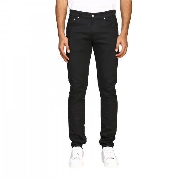 Alexander Mcqueen Jeans aus dunklem Denim mit 5 Taschen