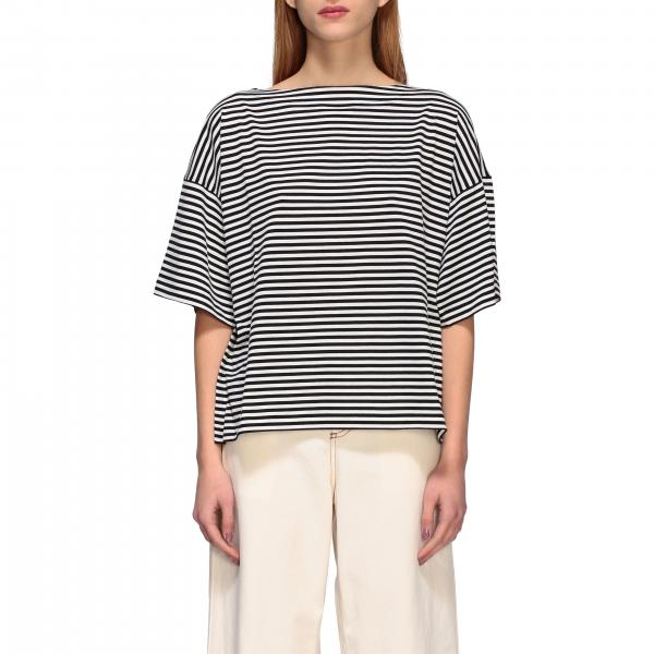 T-shirt Marni over a righe