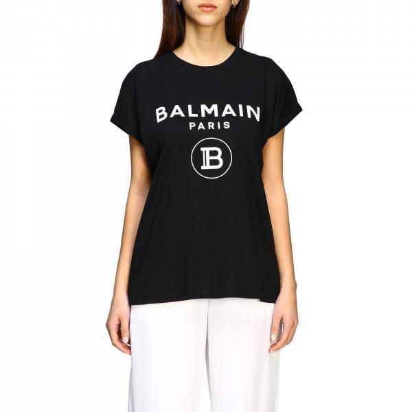 T-shirt Balmain a maniche corte con logo