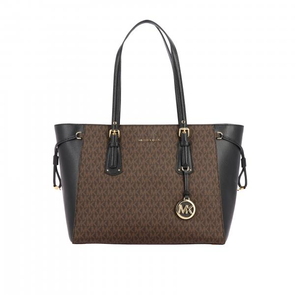 Voyager Michael Michael Kors bag with MK all over print