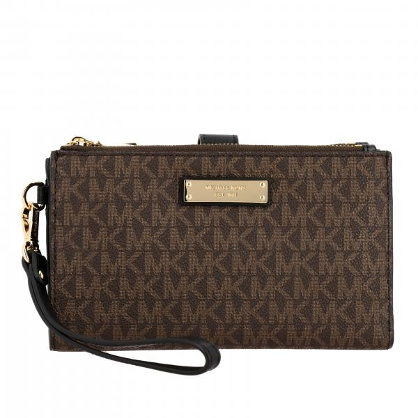 Jet set Michael Michael Kors wallet with all over MK print