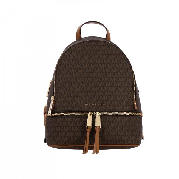 Michael Michael Kors Rhea Zip backpack with MK print