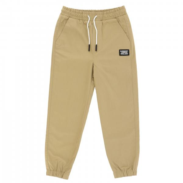 Burberry jogging trousers with logo
