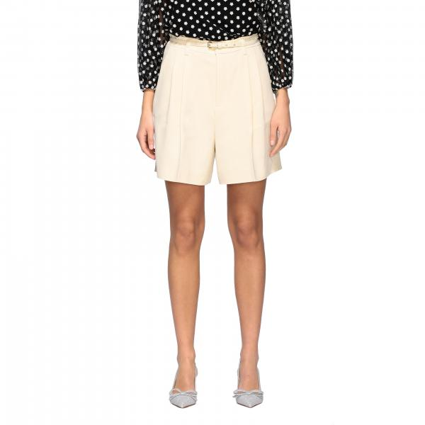 Red Valentino shorts with belt